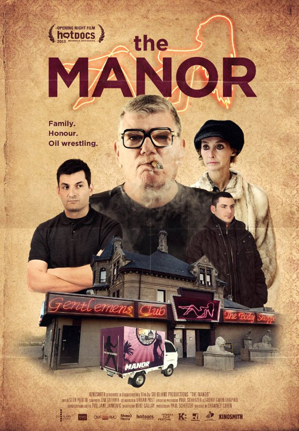 The Manor Poster #1