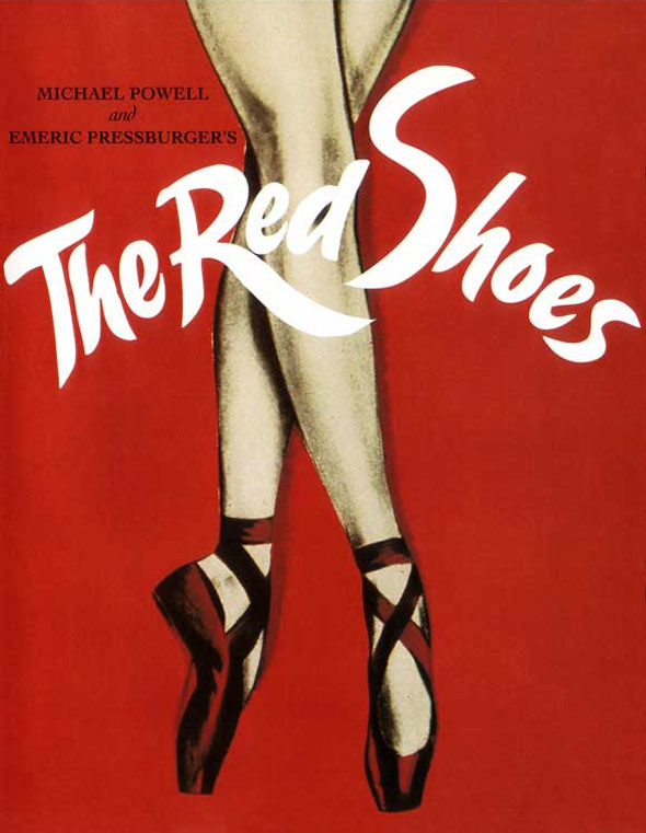 The Red Shoes Poster #2