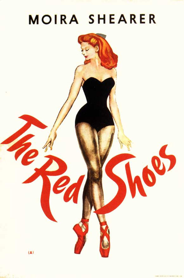 The Red Shoes Poster #1