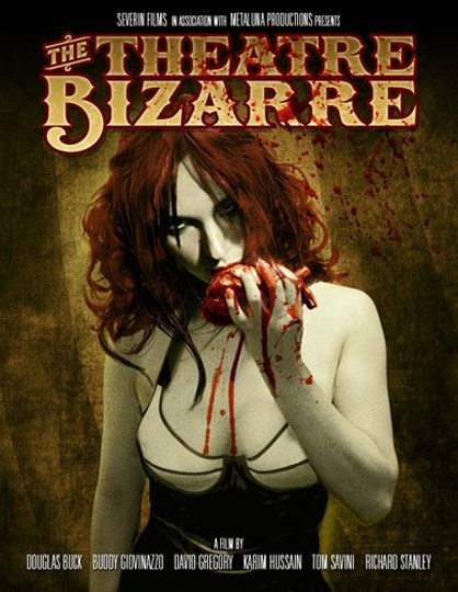 The Theatre Bizarre Poster #1