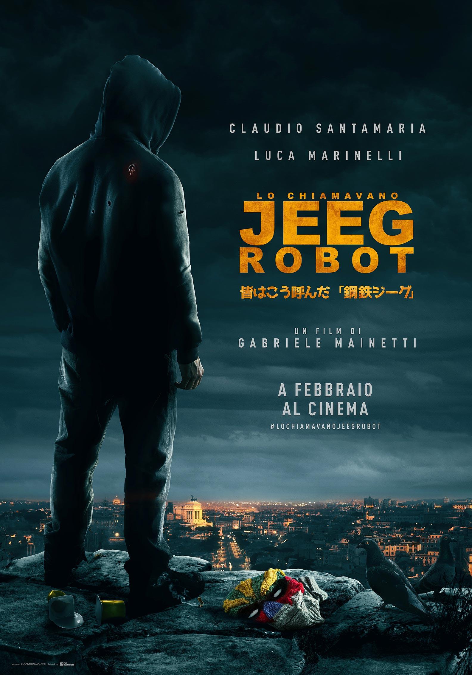 They Call Me Jeeg Poster #1