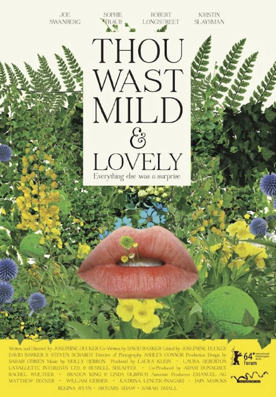 Thou Wast Mild and Lovely Poster #1