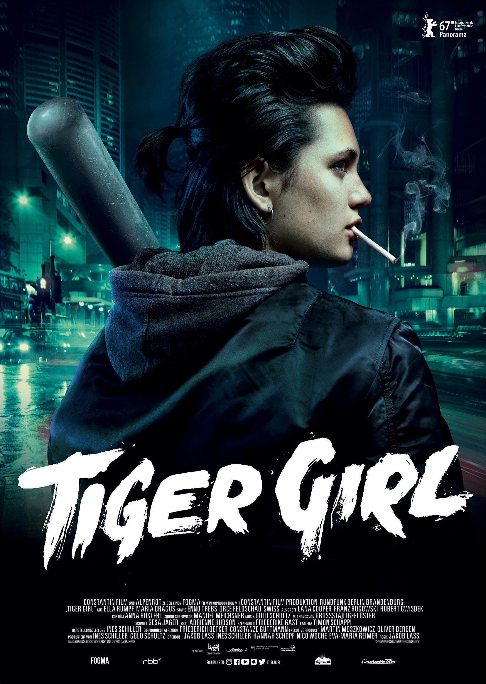 Tiger Girl Poster #1