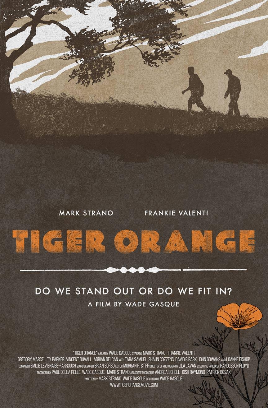 Tiger Orange Poster #1