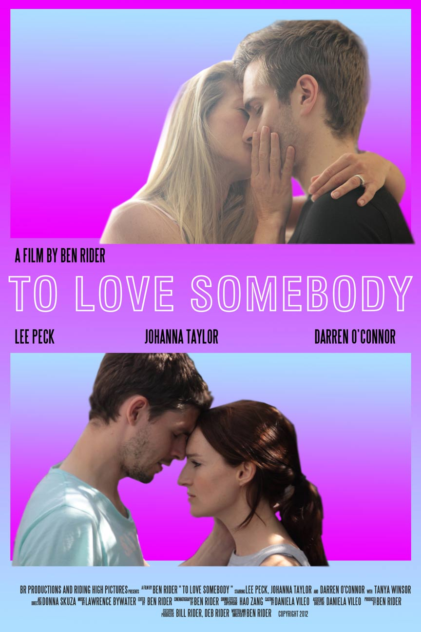 To Love Somebody Poster #1