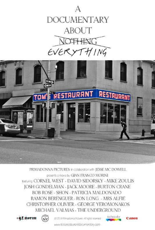 Tom's Restaurant - A Documentary About Everything Poster #1
