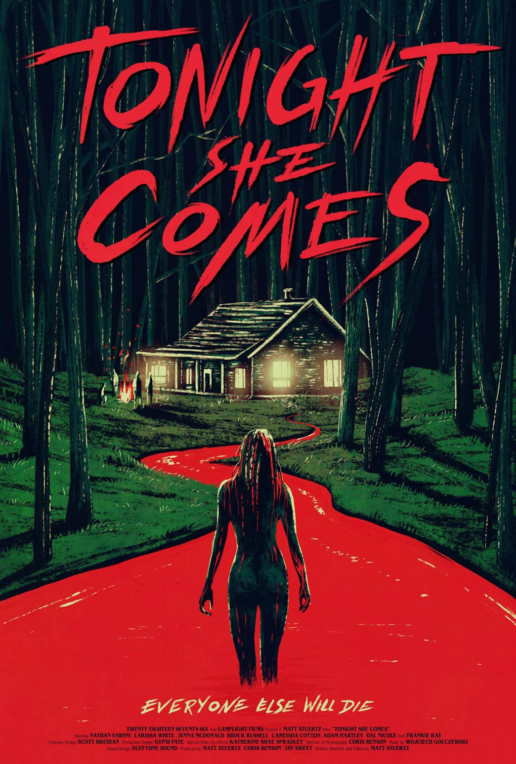 Tonight She Comes Poster #1