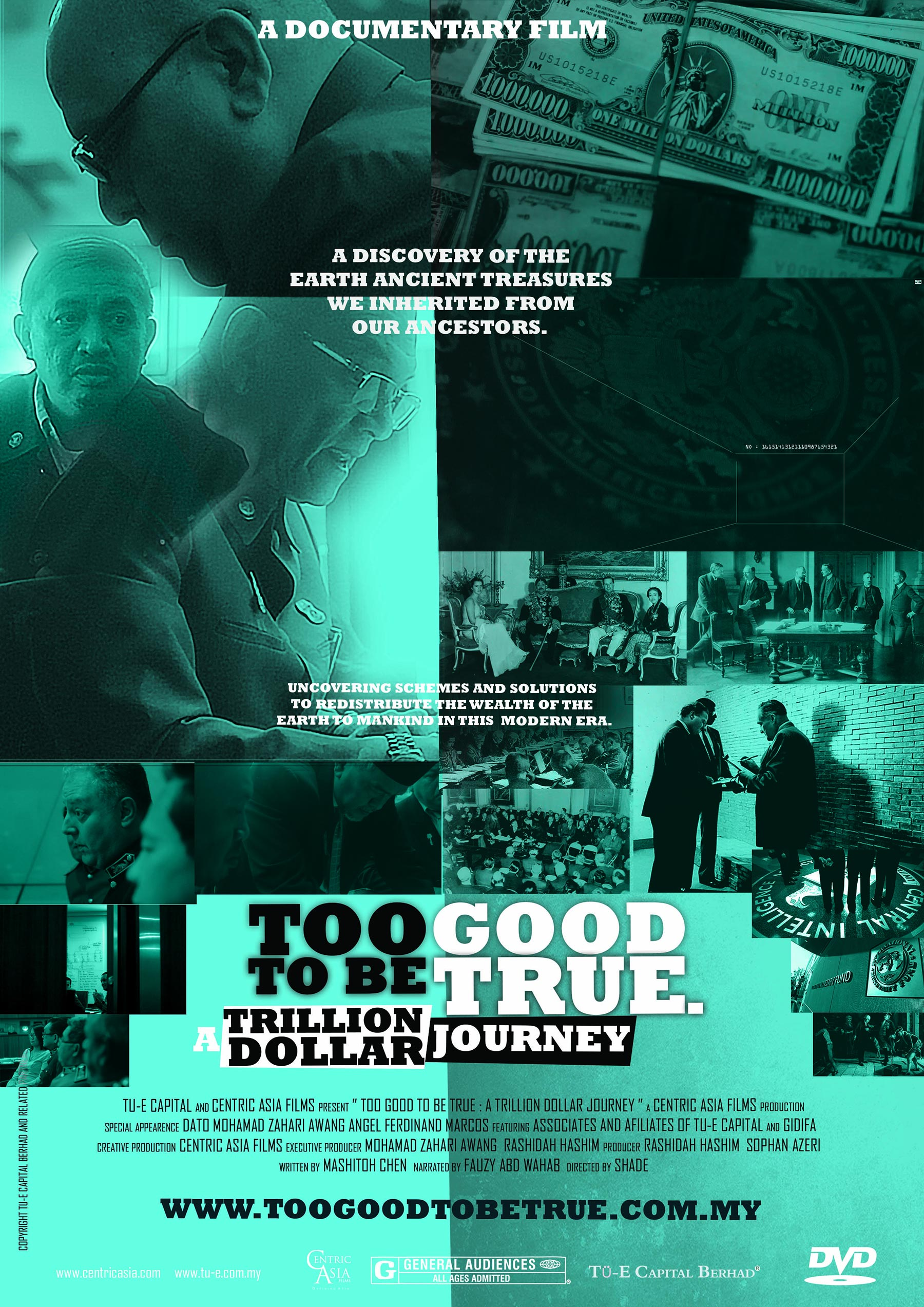 Too Good to be True, a Trillion Dollar Journey Poster #1
