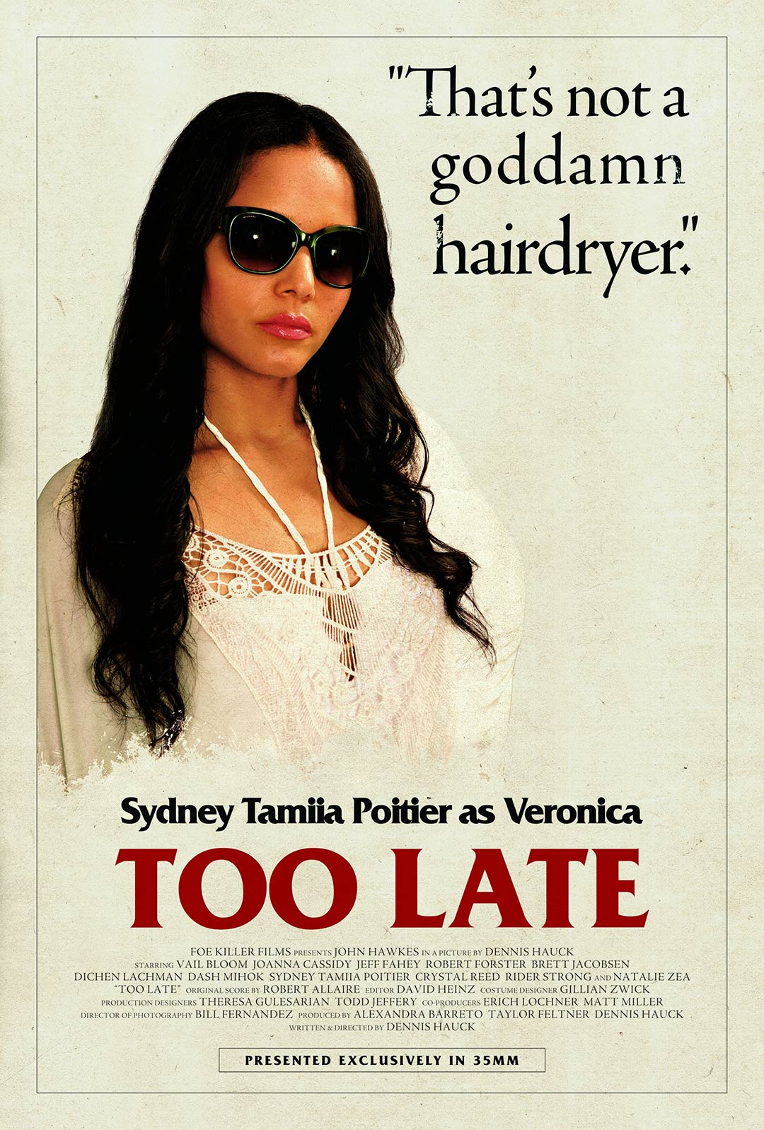 Too Late Poster #2