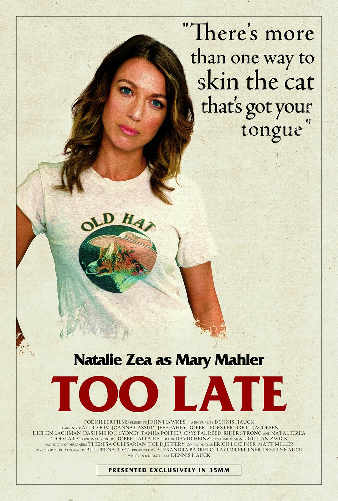 Too Late Poster #5