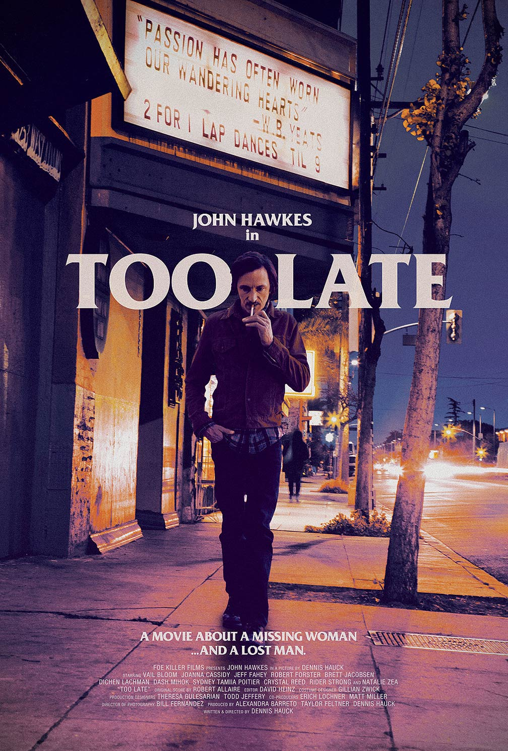 Too Late Poster #1