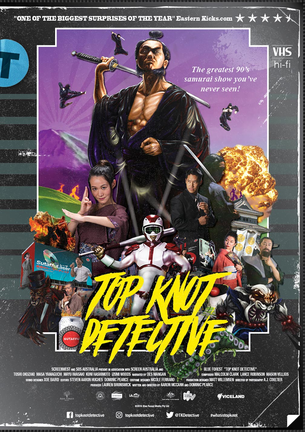 Top Knot Detective Poster #1