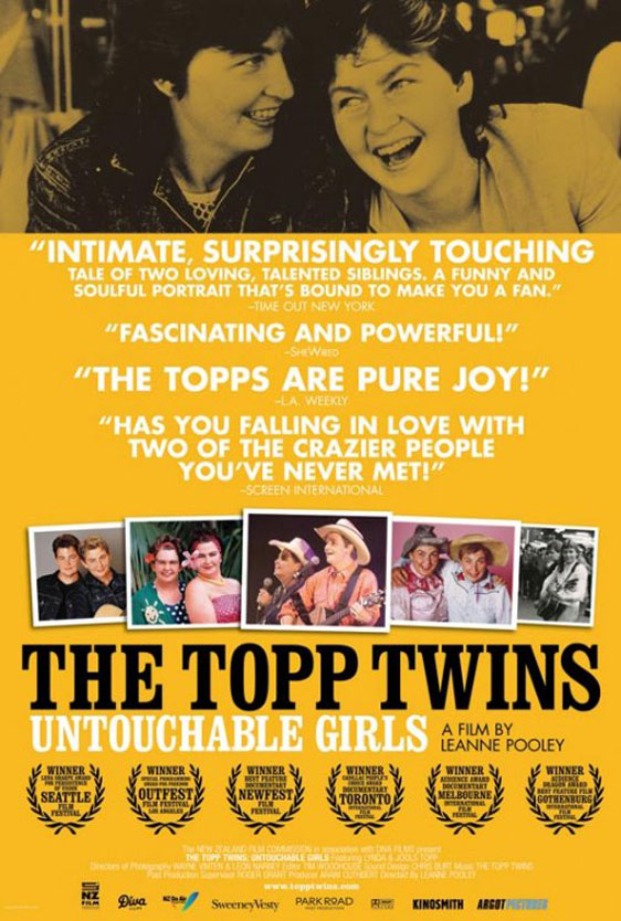 The Topp Twins: Untouchable Girls Poster #1