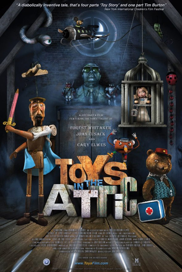 Toys in the Attic Poster #1
