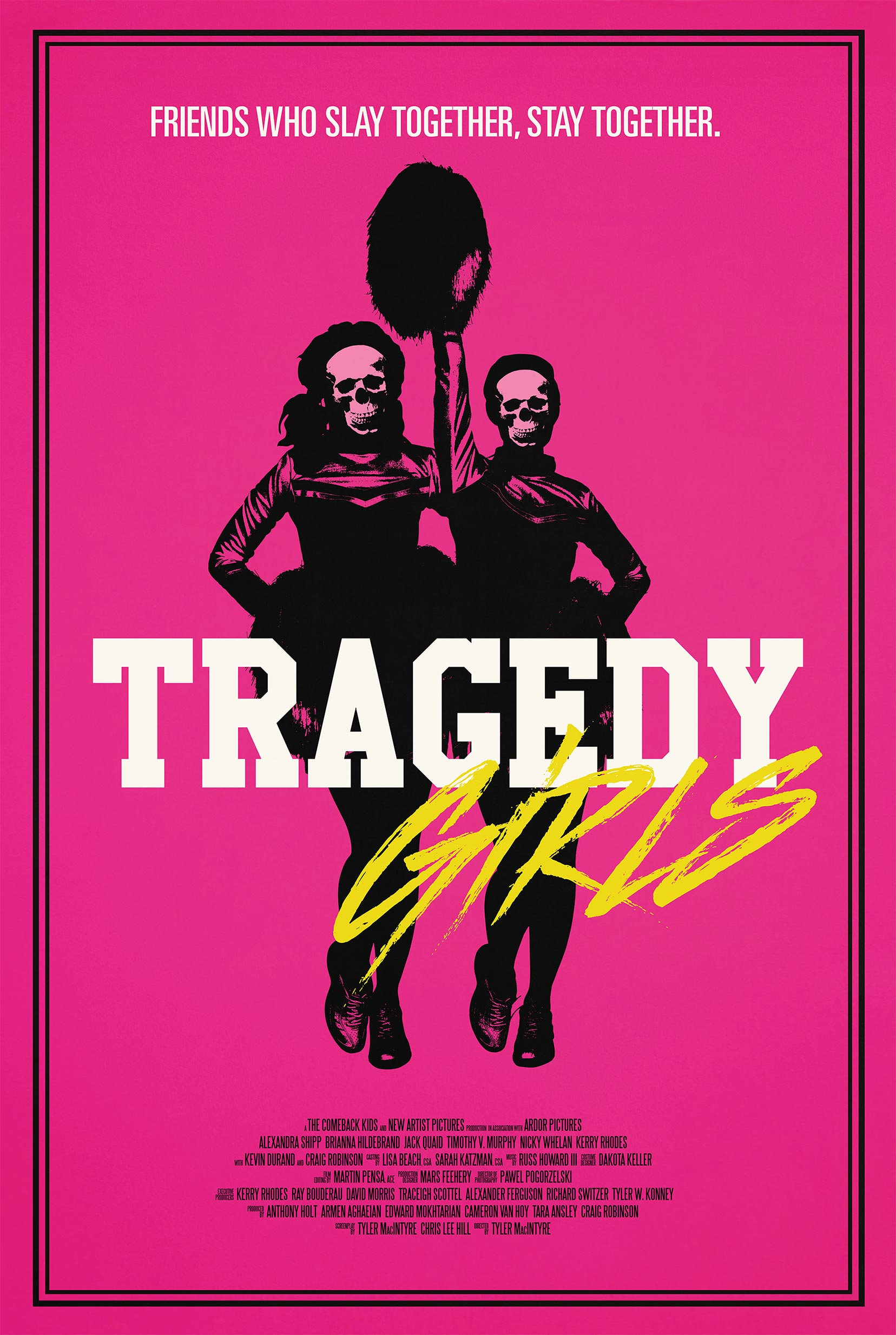 Tragedy Girls Poster #1