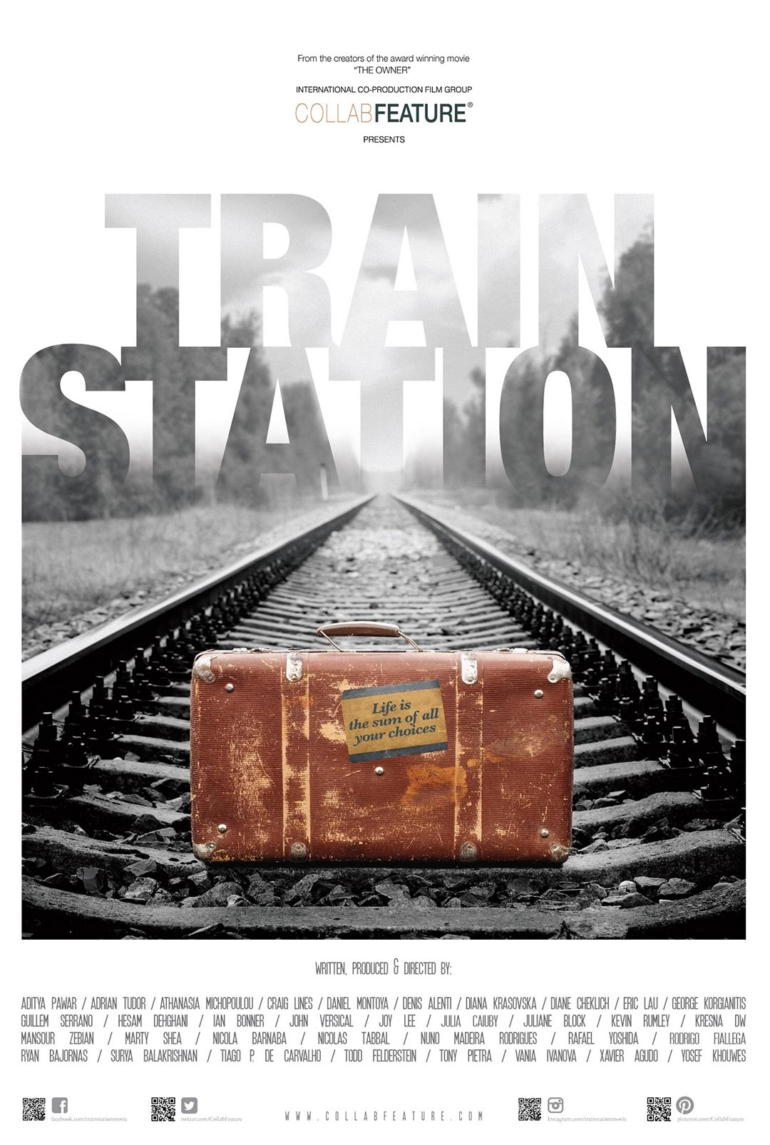 Train Station Poster #1