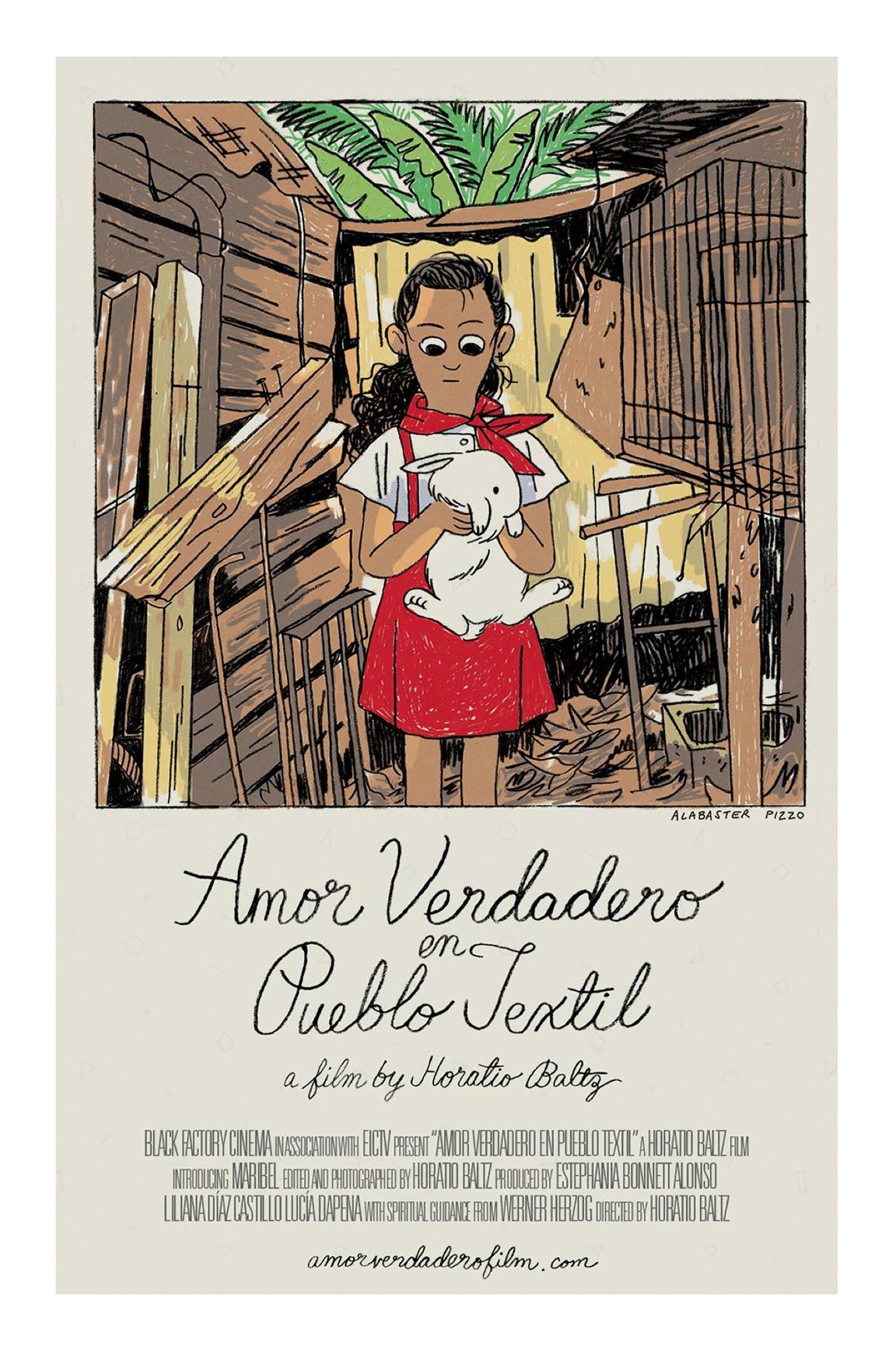 True Love in Pueblo Textil Poster #1