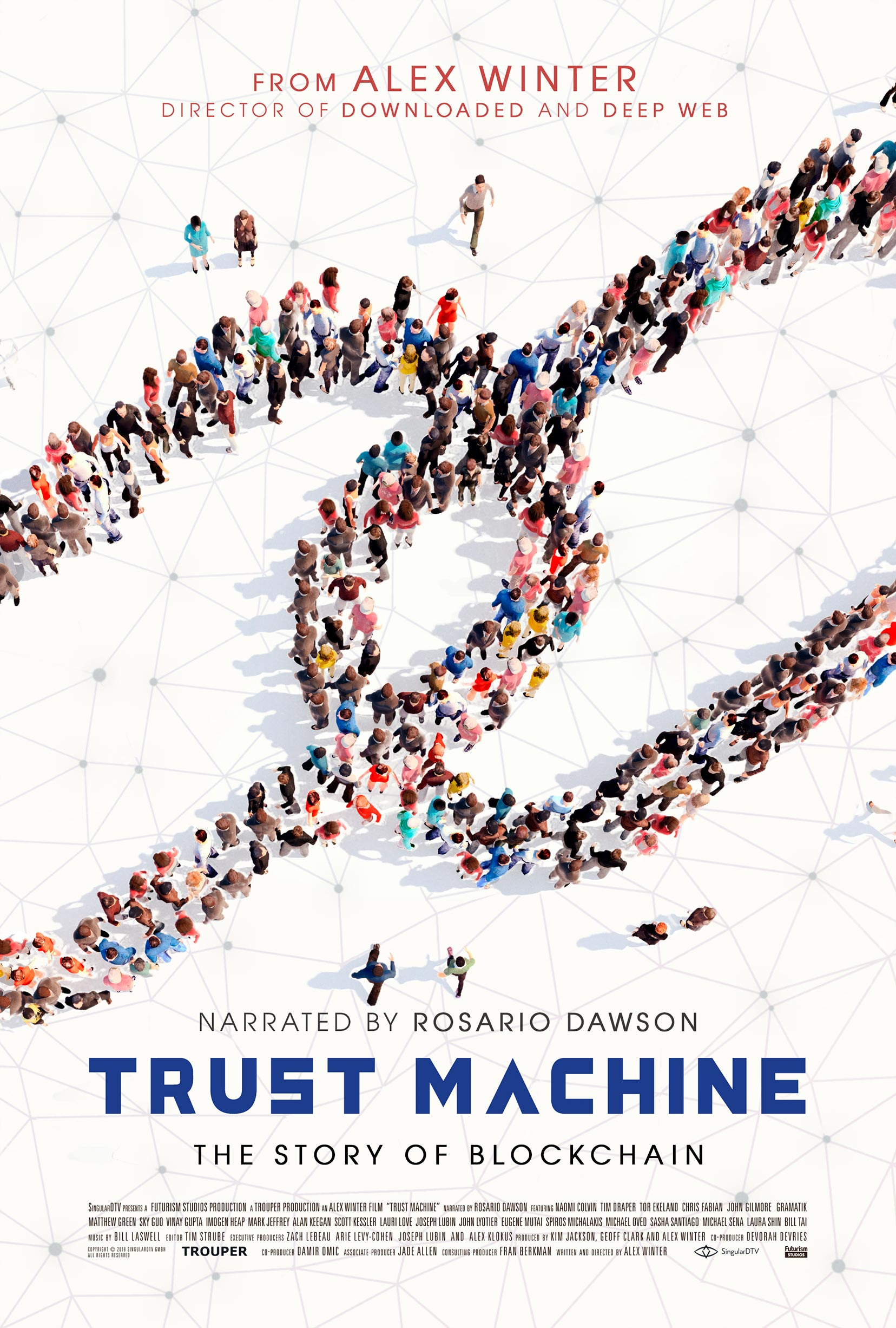 Trust Machine: The Story of Blockchain Poster #1