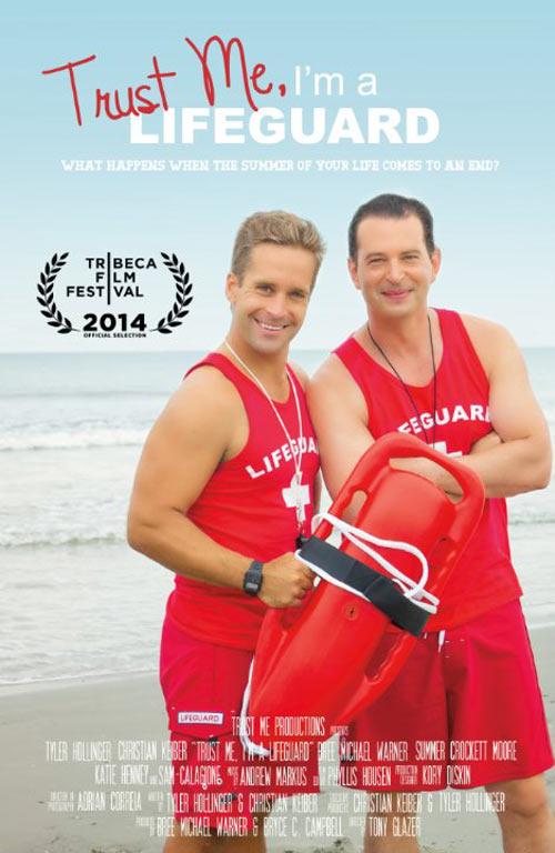 Trust Me, I'm a Lifeguard Poster #1