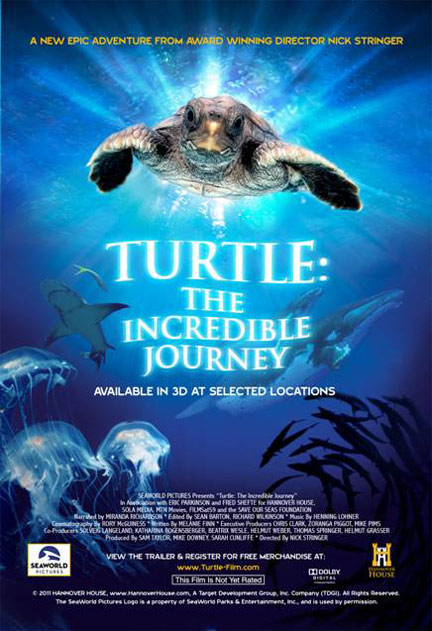 Turtle: The Incredible Journey Poster #1