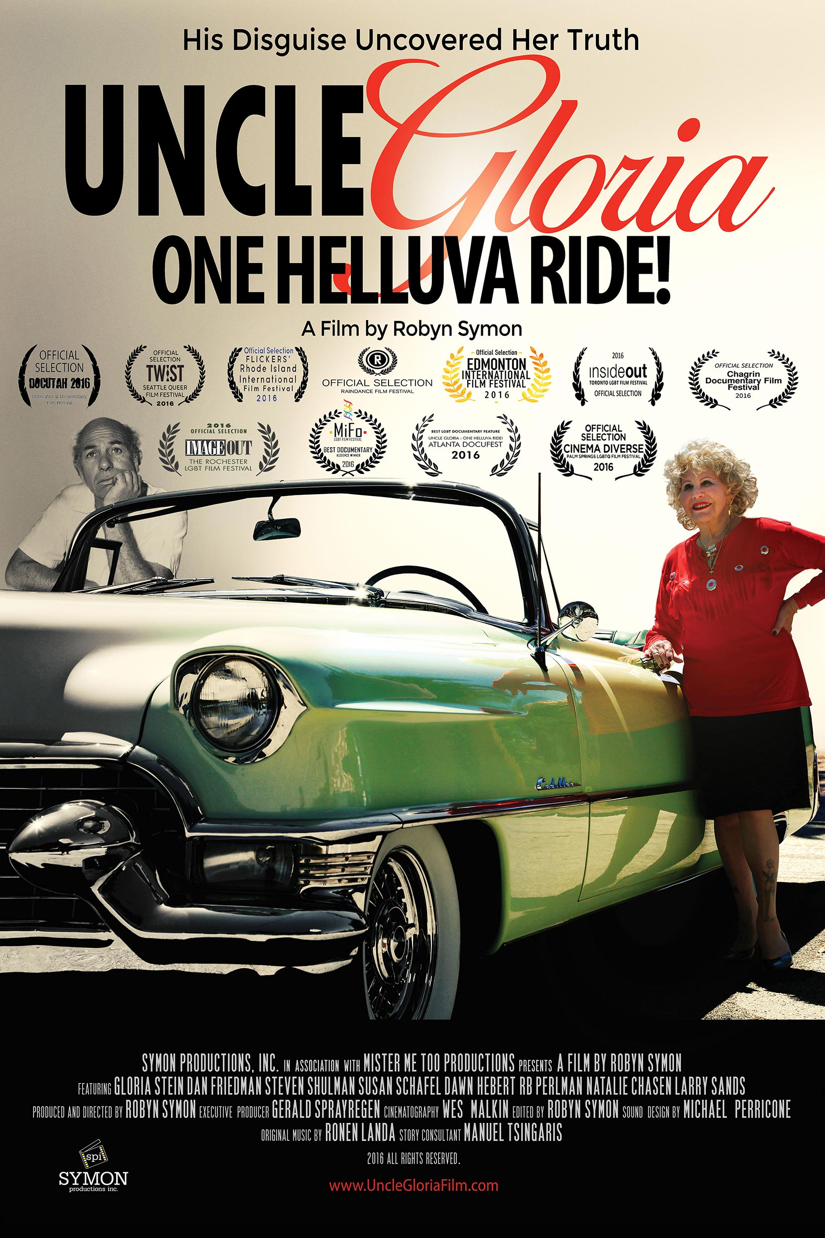 Uncle Gloria: One Helluva Ride! Poster #1