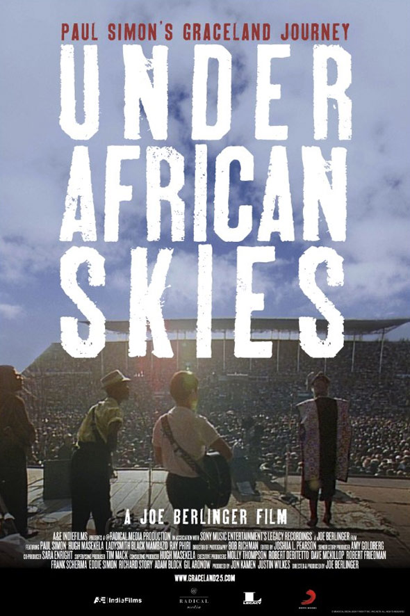Under African Skies Poster #1