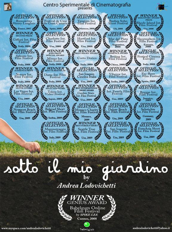 Under My Garden (Sotto il mio giardino) Poster #1