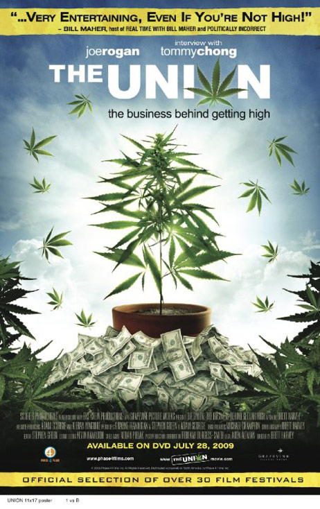 The Union: The Business Behind Getting High Poster #1