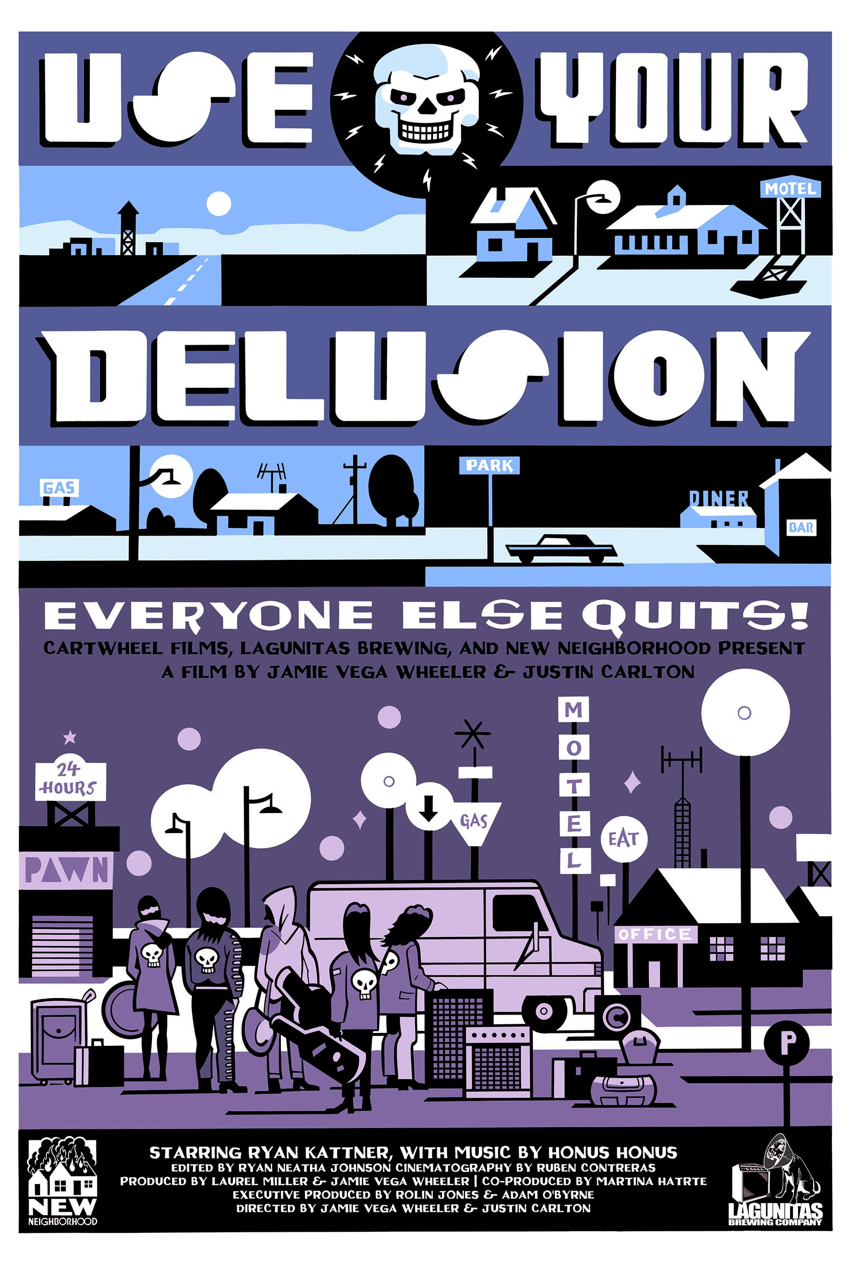 Use Your Delusion Poster #1