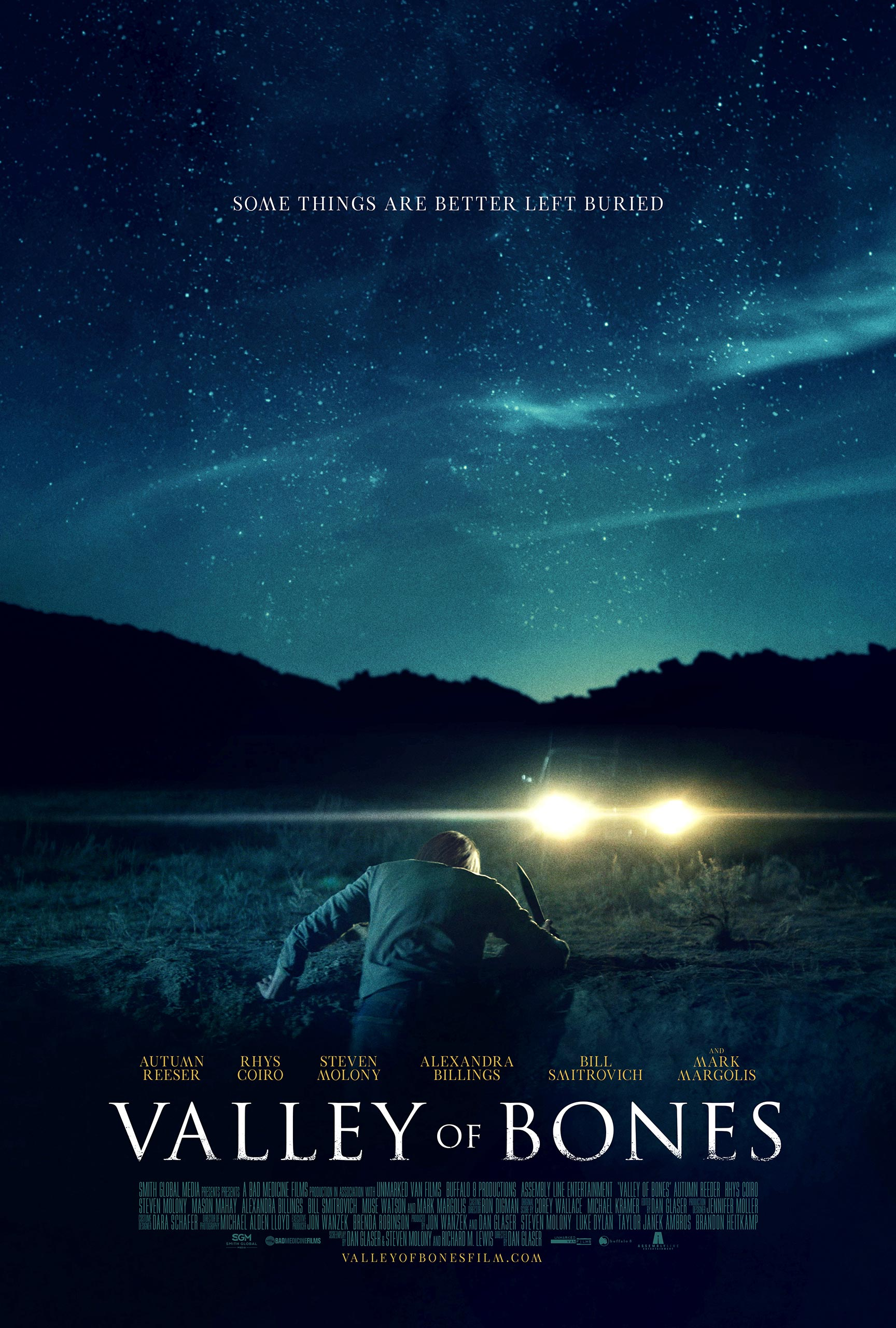 Valley of Bones Poster #1