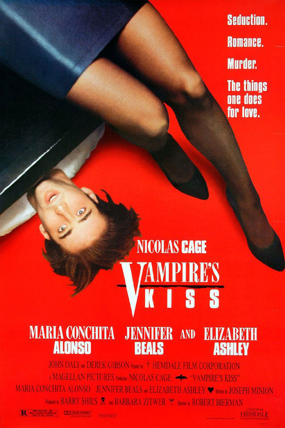 Vampire's Kiss Poster #1