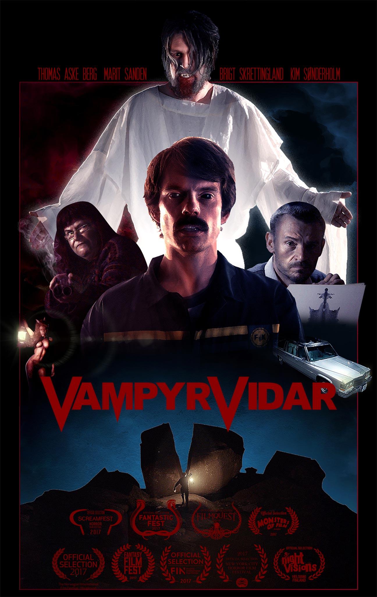 Vidar the Vampire Poster #1