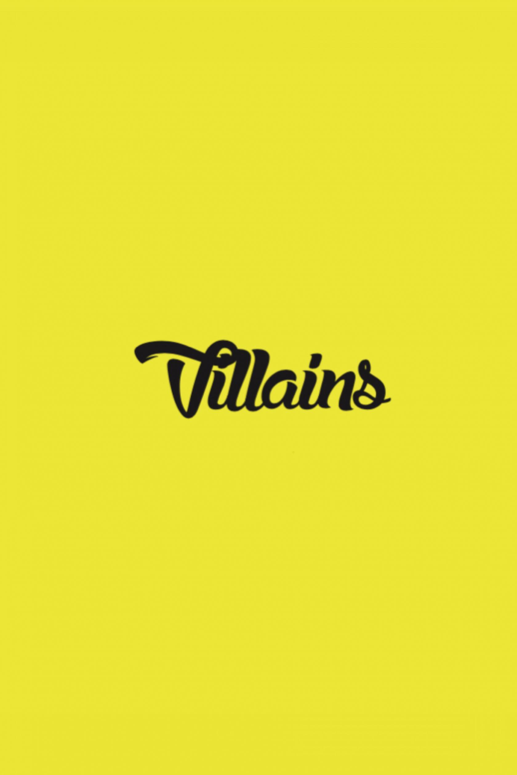 Villains Poster #1