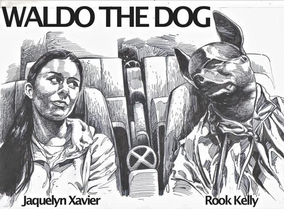 Waldo the Dog Poster #2
