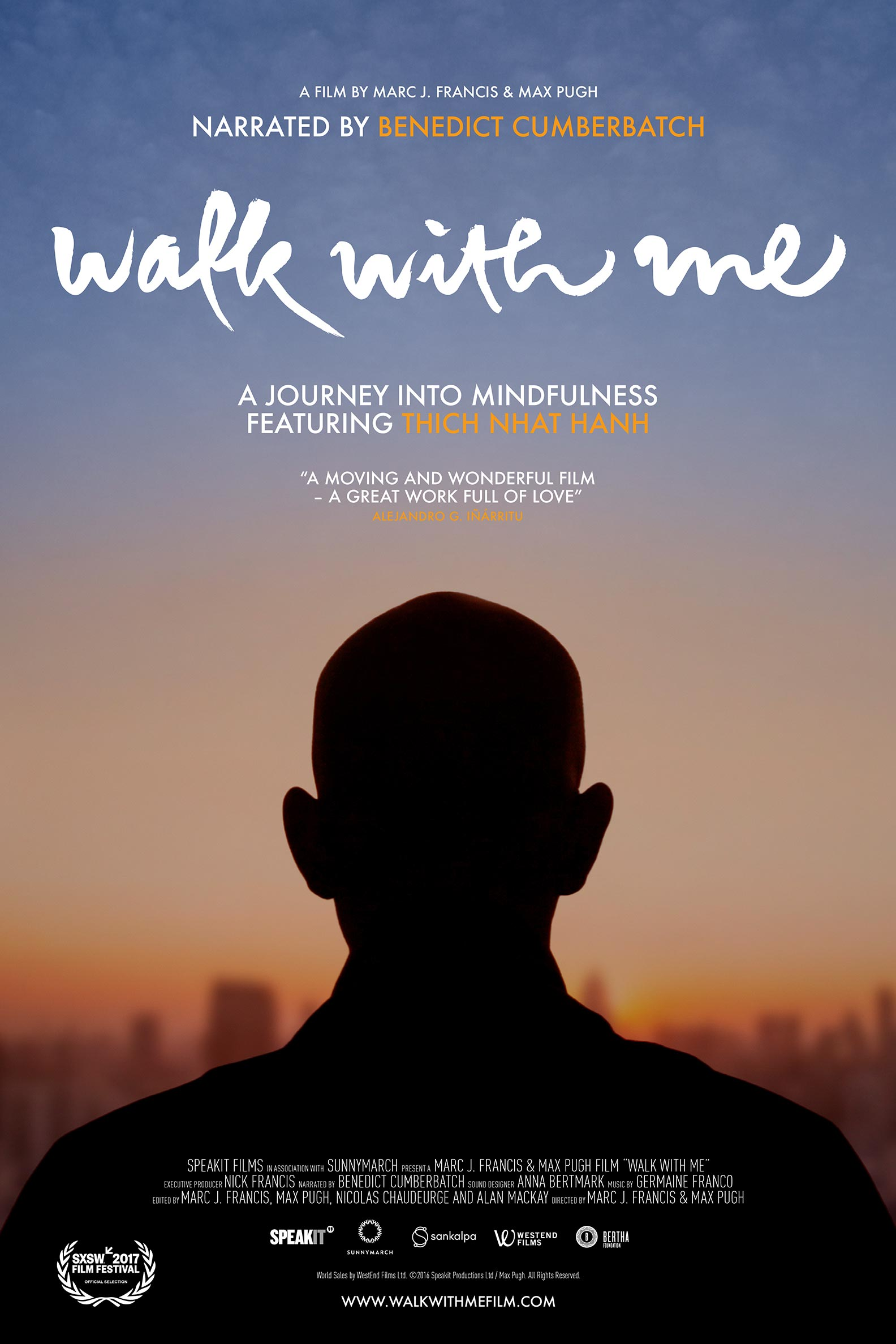 Walk with Me Poster #1