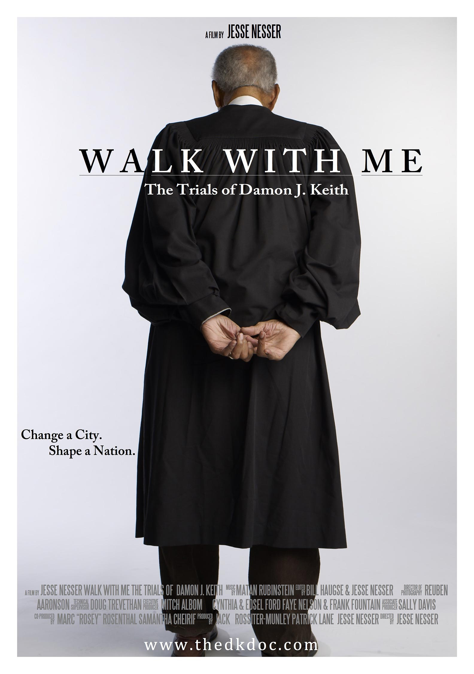 Walk With Me: The Trials of Damon J. Keith Poster #1