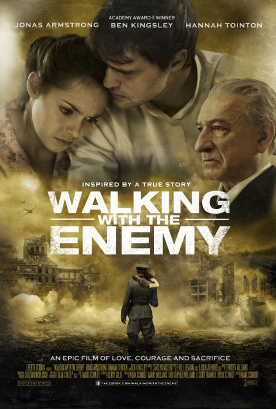 Walking with the Enemy Poster #1