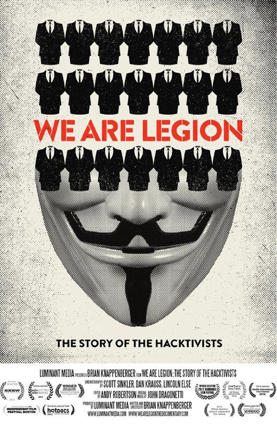We Are Legion: The Story of the Hacktivists Poster #1
