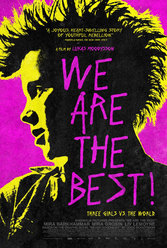 We are the Best! (Vi är bäst!) Poster #3