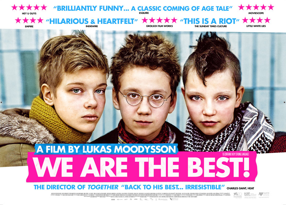 We are the Best! (Vi är bäst!) Poster #1