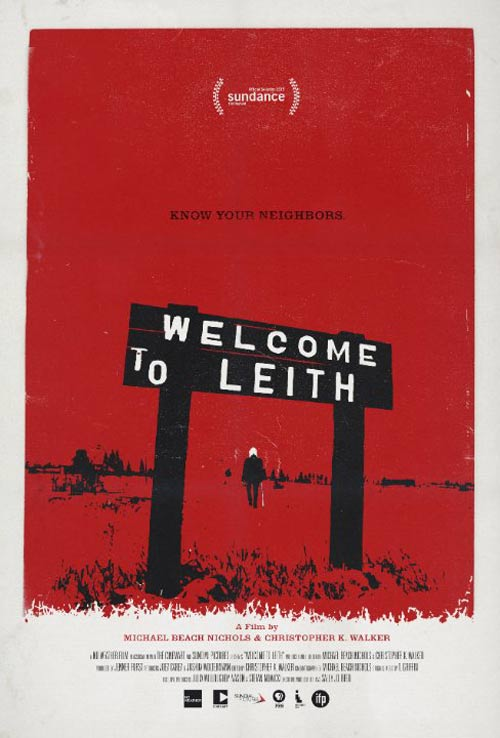 Welcome to Leith Poster #1