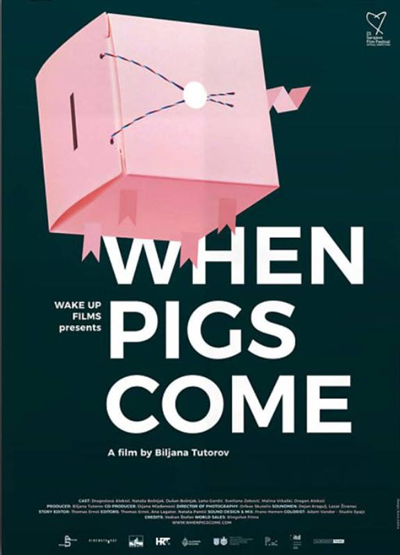 When Pigs Come Poster #1