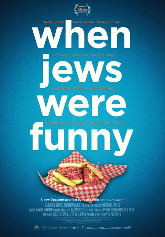 When Jews Were Funny Poster #1