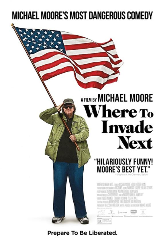 Where to Invade Next Poster #1