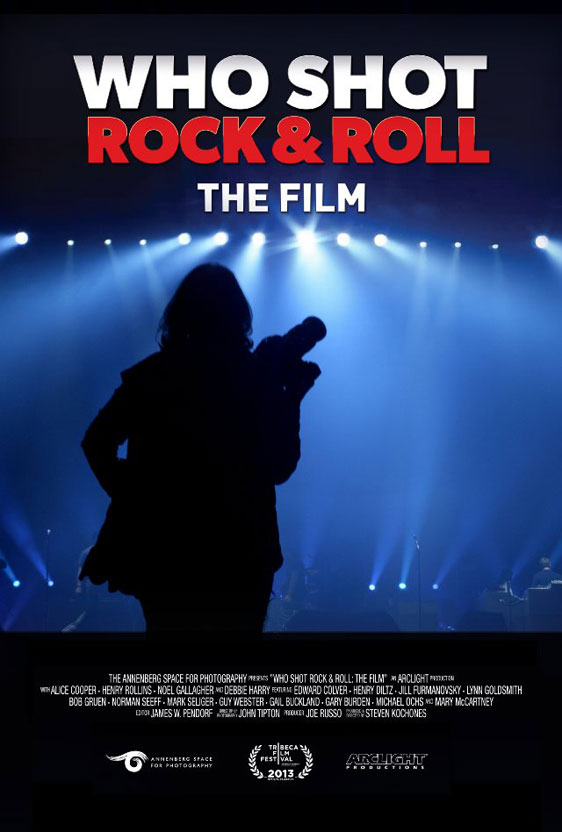 Who Shot Rock & Roll: The Film Poster #1