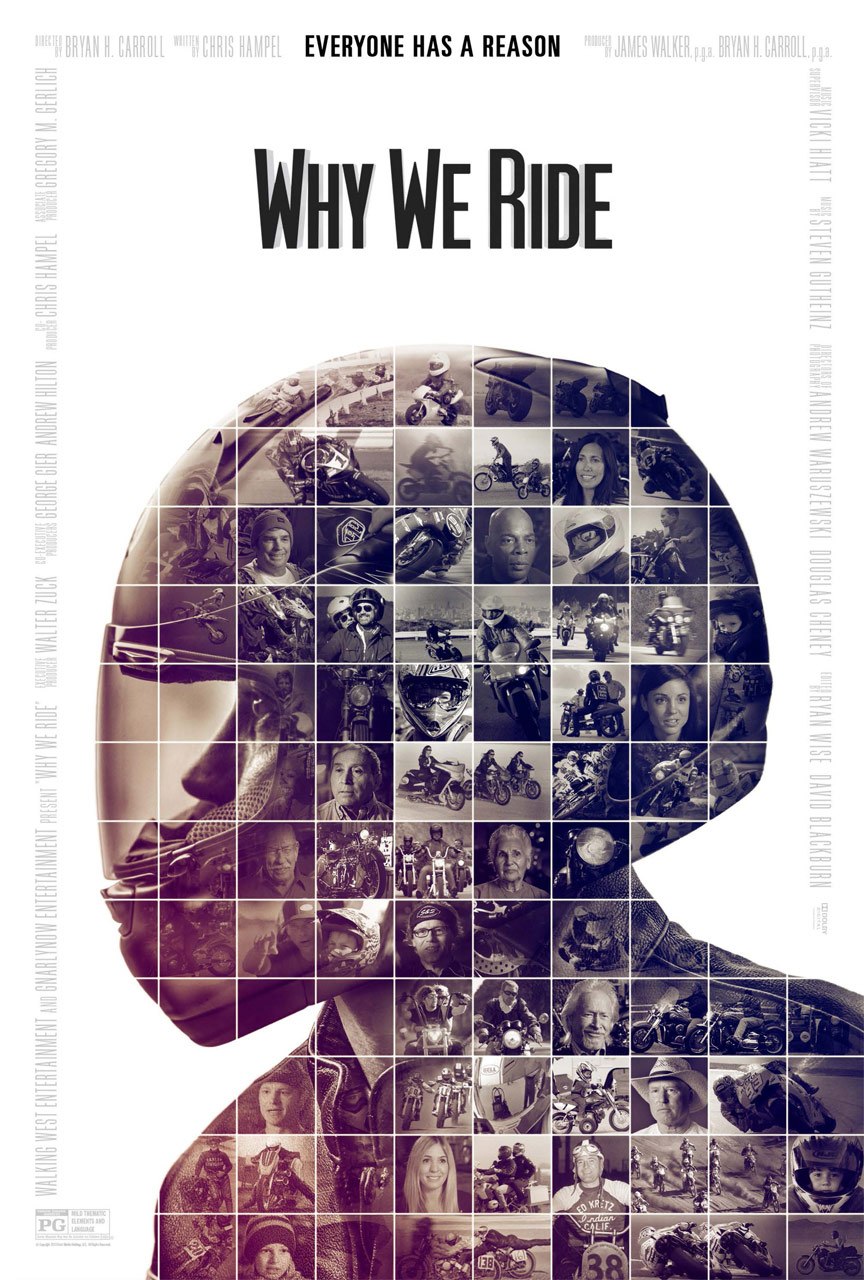 Why We Ride Poster #1