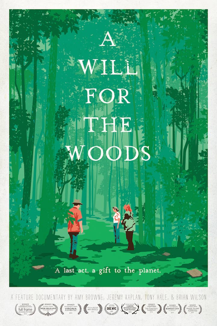 A Will for the Woods Poster #1
