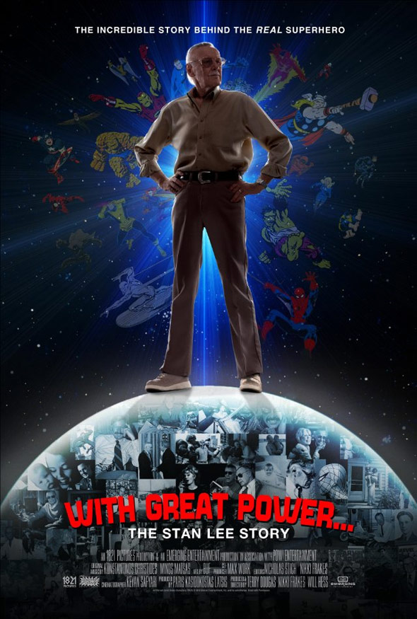 With Great Power: The Stan Lee Story Poster #1