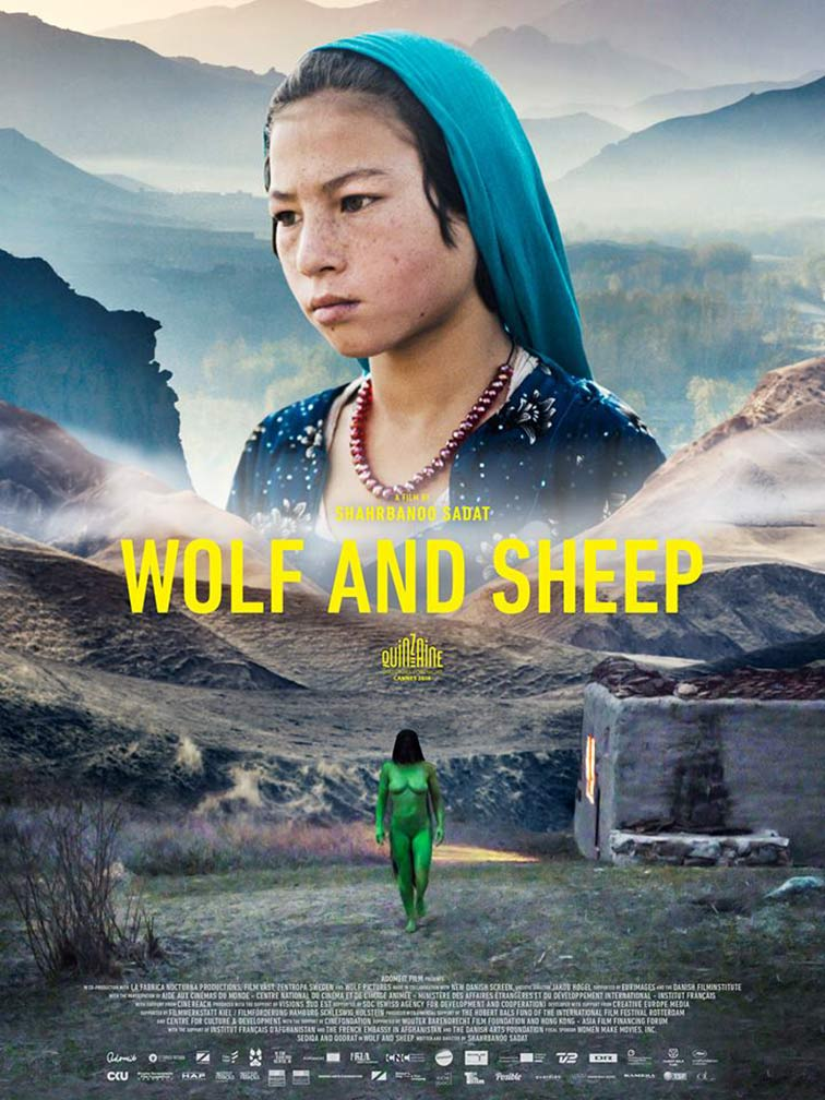 Wolf and Sheep Poster #1