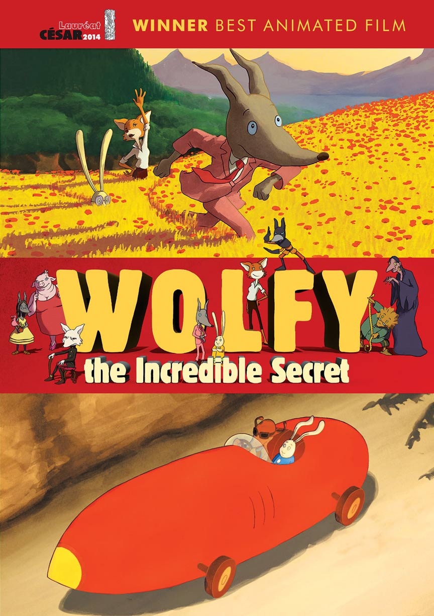 Wolfy, the Incredible Secret Poster #1